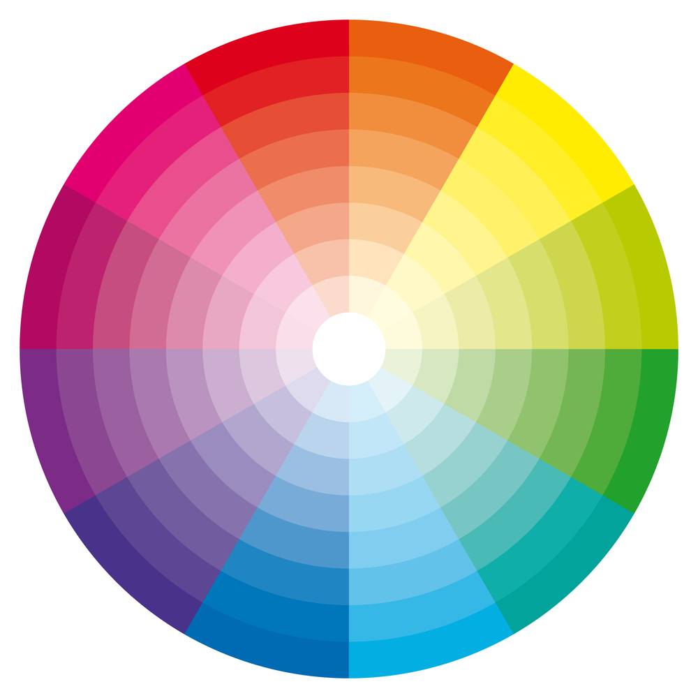 Colour theory for permanent makeup