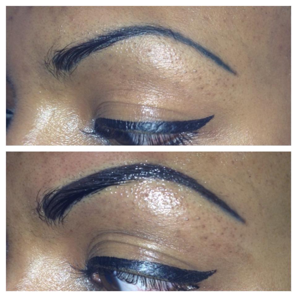 Permanent makeup correction - eyebrows