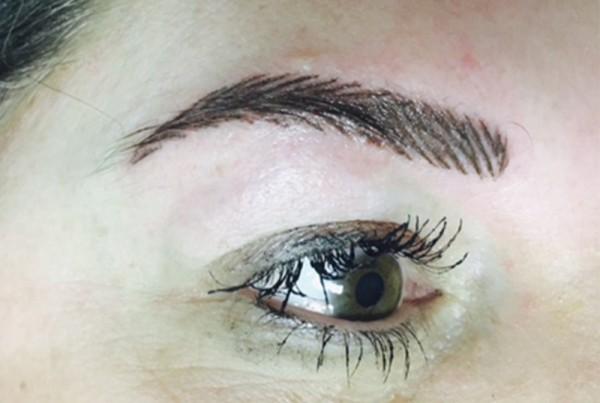 Hairstrokes permanent eyebrows