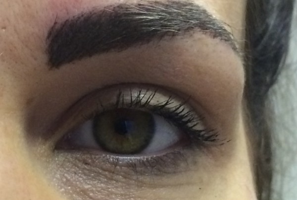 Permanent makeup eyebrow correction, Liverpool (CS)