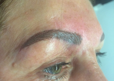 Permanent makeup correction, Wirral